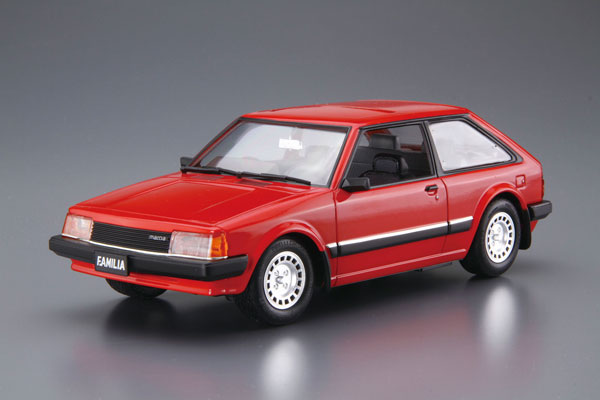ザ・モデルカー No.80 1/24 マツダ BD ファミリア XG '80 プラモデル[アオシマ]《発売済・在庫品》