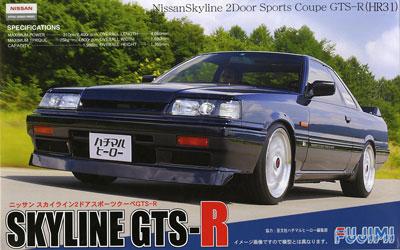 1/24 インチアップシリーズ No.13 ニッサン スカイラインGTS-R(HR31) 1987 2ドアスポーツクーペ プラモデル[フジミ模型]《取り寄せ※暫定》