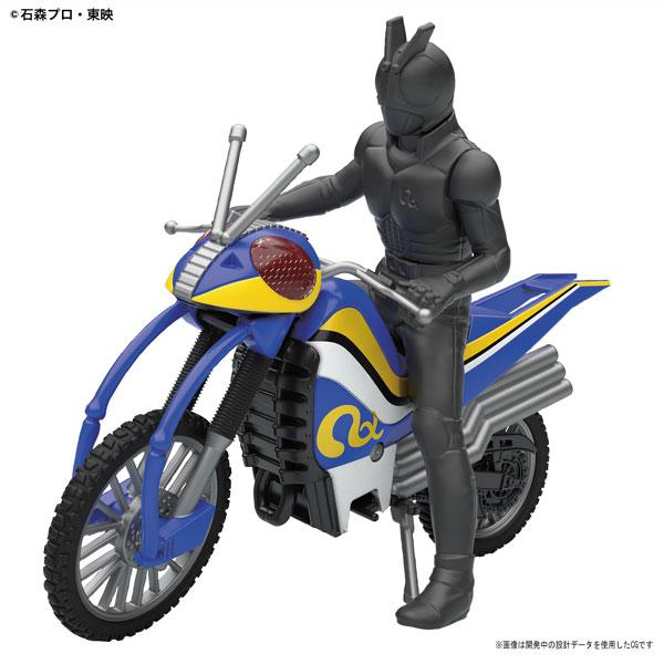 メカコレクション 仮面ライダーシリーズ アクロバッター プラモデル 『仮面ライダーBLACK RX』より[バンダイ]《発売済・在庫品》