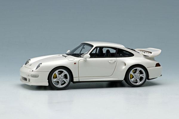 1/43 ポルシェ 911(993) ターボ S 1996 ホワイト[メイクアップ]【送料無料】《在庫切れ》