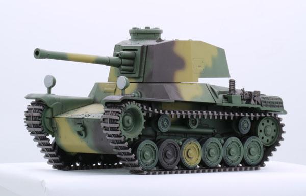 ちび丸ミリタリーシリーズ No.12 三式中戦車 チヌ(長砲身) プラモデル[フジミ模型]《取り寄せ※暫定》