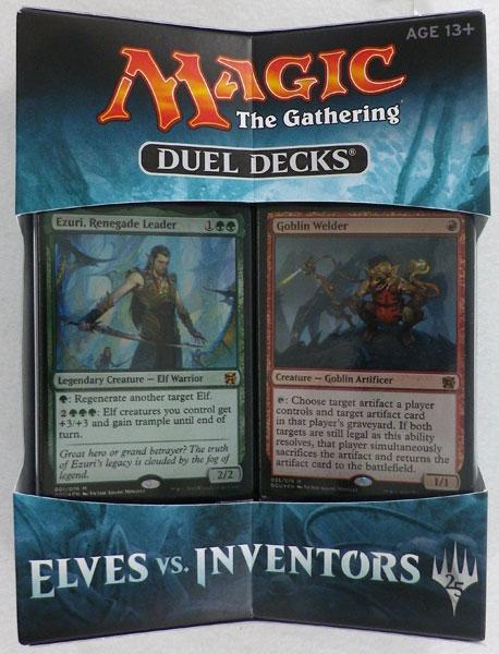 マジック:ザ・ギャザリング デュエルデッキ:エルフVS発明者 英語版[Wizards of the Coast]《発売済・在庫品》