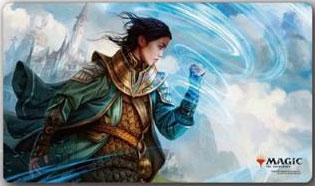 マジック:ザ・ギャザリング プレイヤーズラバーマット『ドミナリア』アカデミーの修士魔道士(MTGM-005)[エンスカイ]《発売済・在庫品》