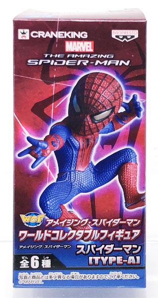 【中古】(本体A/箱B)ワールドコレクタブルフィギュア アメイジング・スパイダーマン スパイダーマン [TYPE-A](プライズ)[バンプレスト]《発売済・在庫品》