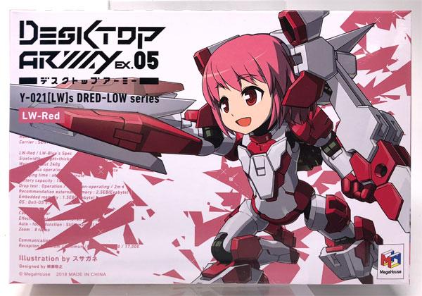 デスクトップアーミー Y-021[LW-R]s ドレッド-ロウ レド(ペアリング強化仕様)(ワンダーフェスティバル2018[冬]限定)