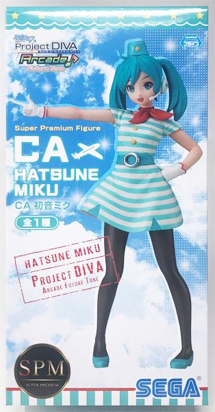 【中古】(本体A/箱B)初音ミク Project DIVA Arcade Future Tone スーパープレミアムフィギュア CA 初音ミク(プライズ)[セガ]《発売済・在庫品》