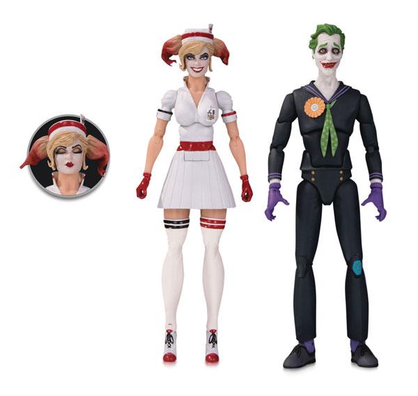 DCコミックス 6インチ デザイナーシリーズ ジョーカー&ナース ハーレイ・クイン(ボムシェルズ版) By アント・ルチア