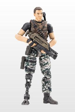 『エイリアン2:コロニアルマリーンズ』1/18スケール ハイヤトイズ アクションフィギュア ジェレミー・クルツ中尉