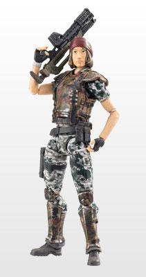 『エイリアン2:コロニアルマリーンズ』1/18スケール ハイヤトイズ アクションフィギュア ジェニファー・レディング二等兵