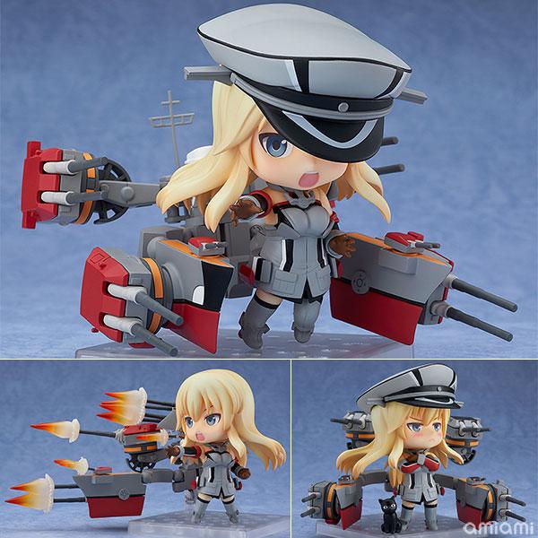 ねんどろいど 艦隊これくしょん -艦これ- Bismarck(ビスマルク)改[グッドスマイルカンパニー]《10月予約》