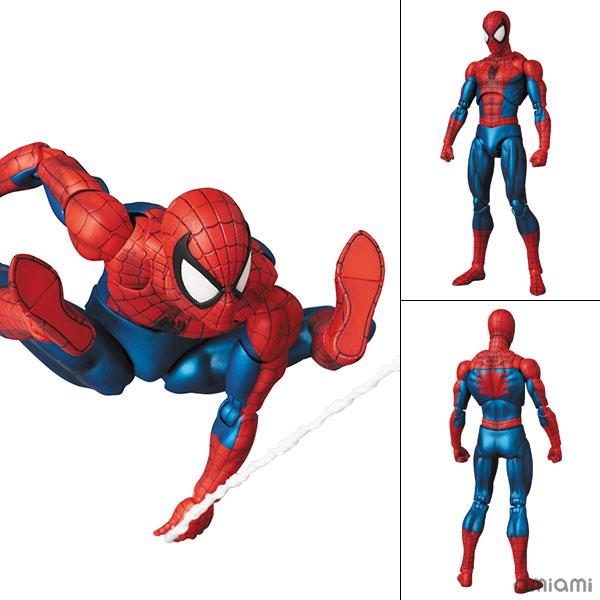 マフェックス No.075 MAFEX SPIDER-MAN(COMIC Ver.) 『マーベル・コミック』(再販)[メディコム・トイ]《在庫切れ》