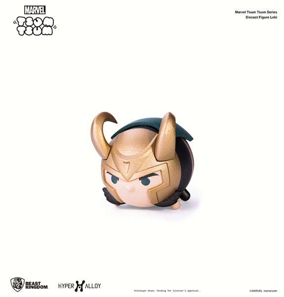 『マーベル ツムツム』 メタル・フィギュア ロキ[ビーストキングダム]《在庫切れ》