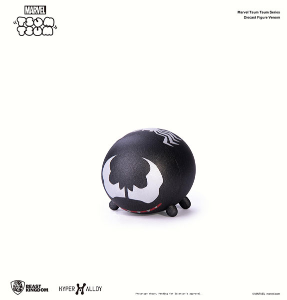 『マーベル ツムツム』 メタル・フィギュア ヴェノム