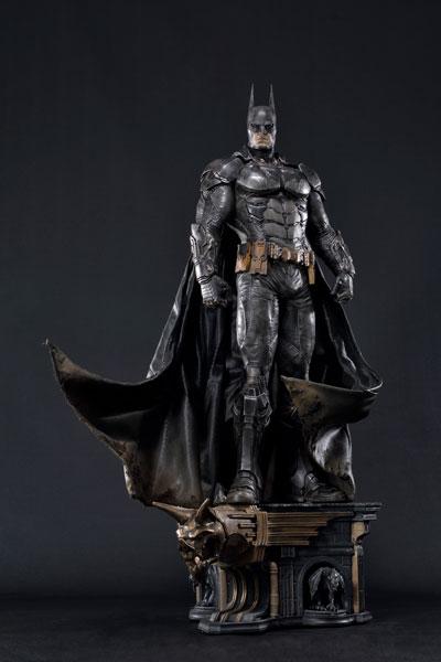 ミュージアムマスターライン/ バットマン アーカム・ナイト: バットマン バトルダメージ ver[プライム1スタジオ]【同梱不可】【送料無料】《在庫切れ》