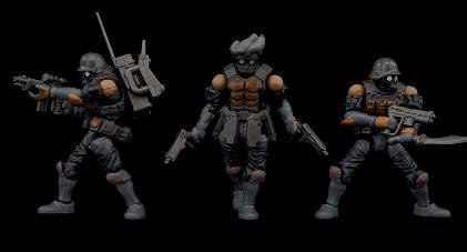 Bucks Team Trooper Set 可動フィギュア