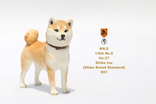 1/6 柴犬 スタチュー 001[MR.Z]《09月仮予約》