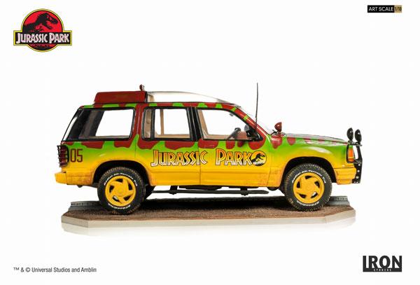 ジュラシック・パーク/ ジャングルエクスプローラー 05 1/10 アートスケール スタチュー[アイアン・スタジオ]【同梱不可】【送料無料】《04月仮予約》