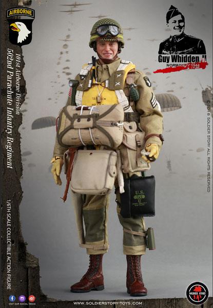 1/6 第二次世界大戦 アメリカ軍 第101空挺師団 GUY WHIDDEN,II ノルマンディー上陸作戦1944