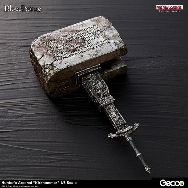 Bloodborne/ ハンターズ・アーセナル: 教会の石鎚 1/6スケール ウェポン[Gecco]《在庫切れ》