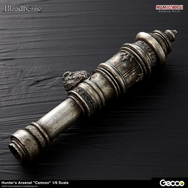 Bloodborne/ ハンターズ・アーセナル: 大砲 1/6スケール ウェポン[Gecco]《在庫切れ》