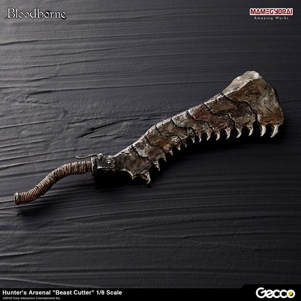 Bloodborne/ ハンターズ・アーセナル: 獣肉断ち 1/6スケール ウェポン[Gecco]《在庫切れ》