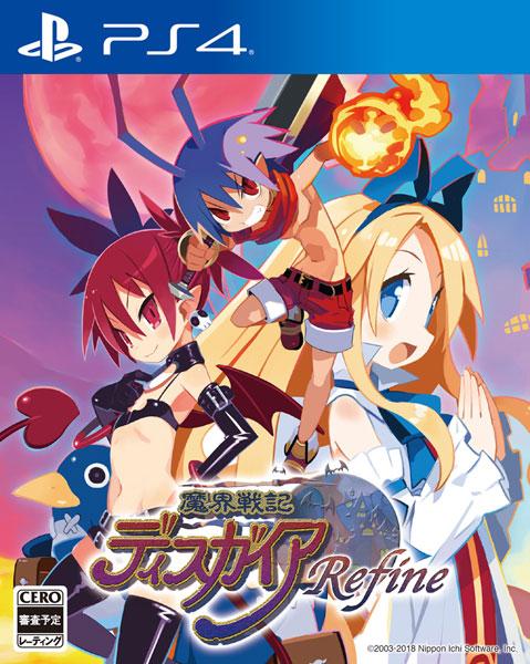 PS4 魔界戦記ディスガイア Refine 通常版[日本一ソフトウェア]《在庫切れ》