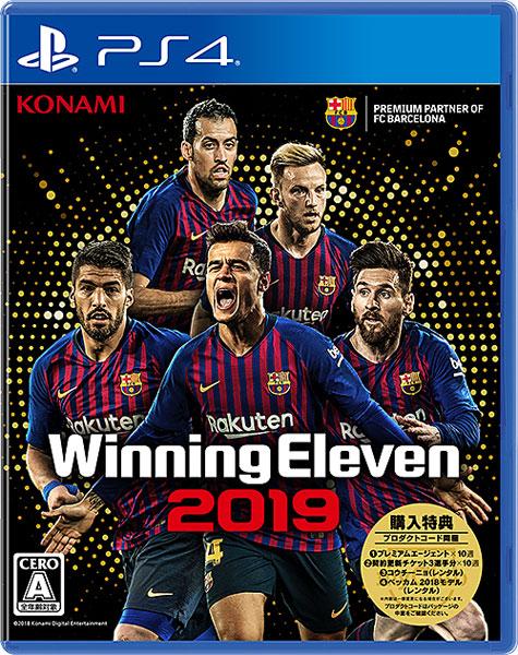 【特典】PS4 ウイニングイレブン 2019[コナミ]《在庫切れ》