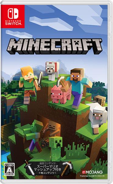 Nintendo Switch Minecraft (マインクラフト)[日本マイクロソフト]【送料無料】《在庫切れ》