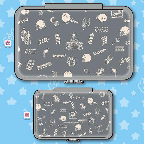 星のカービィ Nintendo Switch専用 コンパクトポーチ [グレー](再販)[タカラトミーアーツ]《在庫切れ》