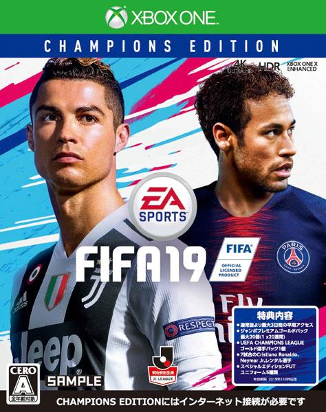 Xbox One FIFA 19 Champions Edition[EA]《09月予約》