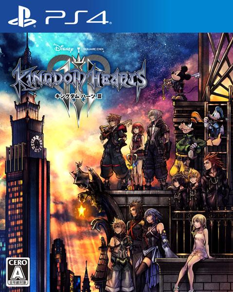 PS4 キングダム ハーツIII[スクウェア・エニックス]《01月予約》