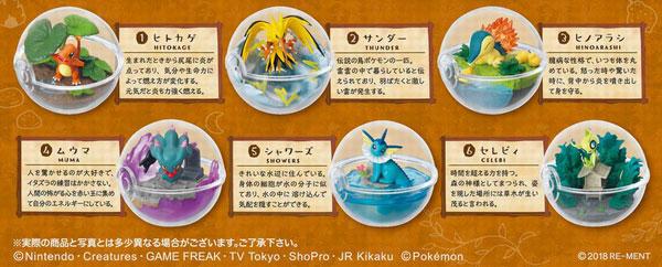 ポケットモンスター テラリウムコレクション3 6個入りBOX (食玩)
