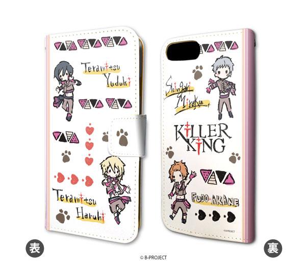 手帳型スマホケース(iPhone6/6s/7/8兼用)「B-PROJECT」04/KiLLER KiNG(グラフアートデザイン)[A3]《在庫切れ》