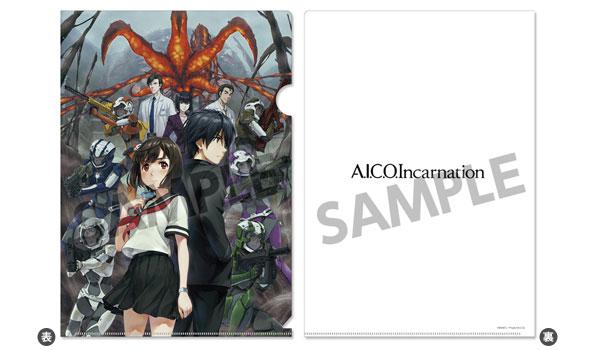A.I.C.O. Incarnation クリアファイル[ホビーストック]《取り寄せ※暫定》