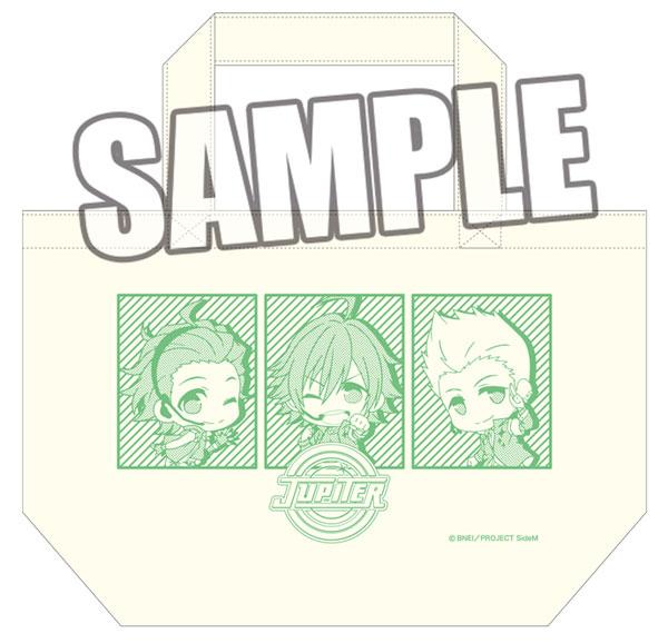 TVアニメ アイドルマスター SideM ミニトートバッグ「Jupiter」[ブロッコリー]《在庫切れ》