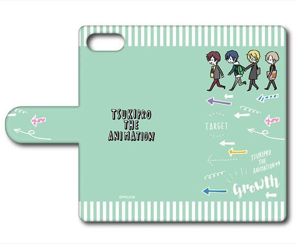 TSUKIPRO THE ANIMATION 手帳型スマホケース(iPhone6Plus/6sPlus/7Plus/8Plus) B Growth[プレイフルマインドカンパニー]《在庫切れ》