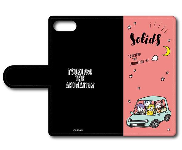TSUKIPRO THE ANIMATION 手帳型スマホケース(iPhoneX) C SolidS[プレイフルマインドカンパニー]《在庫切れ》