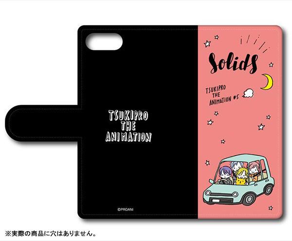 TSUKIPRO THE ANIMATION 手帳型スマホケース(マルチL) C SolidS[プレイフルマインドカンパニー]《在庫切れ》