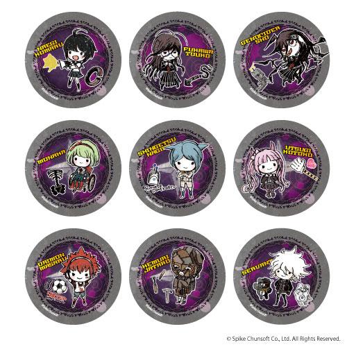 缶バッジ「絶対絶望少女 ダンガンロンパ Another Episode」01/グラフアートデザイン 9個入りBOX[A3]《在庫切れ》