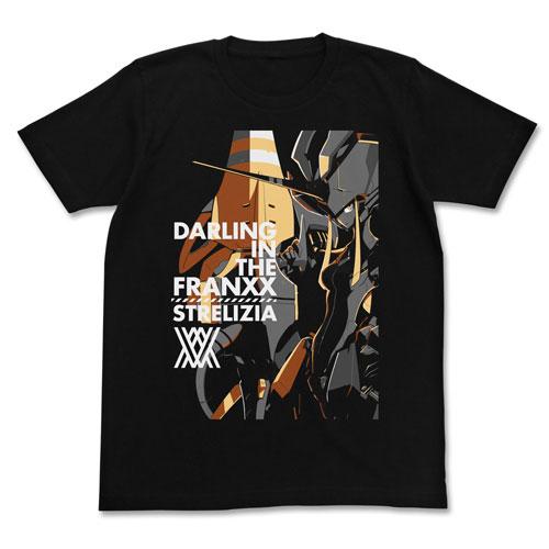 ダーリン・イン・ザ・フランキス ストレリチア Tシャツ/BLACK-XL(再販)[コスパ]《08月予約》