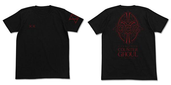 東京喰種トーキョーグール:re 鈴屋班 Tシャツ/BLACK-M(再販)[コスパ]《在庫切れ》