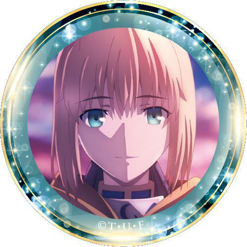 劇場版Fate/stay night [Heaven's Feel] ポリカバッジ vol3 セイバー[GRANUP]《発売済・在庫品》