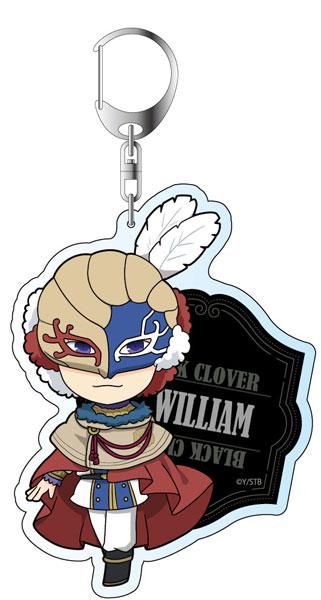 ブラッククローバー デカキーホルダー ウィリアム・ヴァンジャンス デフォルメver.[コンテンツシード]《在庫切れ》