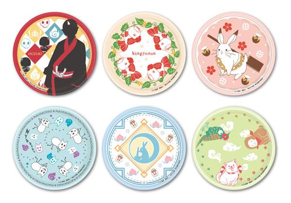 鬼灯の冷徹 第弐期 ミニ絵皿コレクション 6個入りBOX[エンスカイ]《在庫切れ》