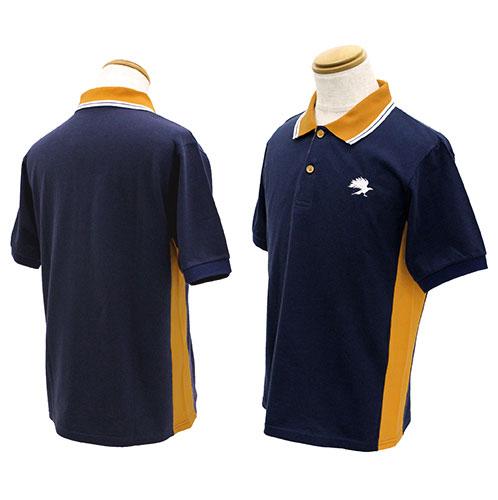 ハイキュー!! 烏野高校 デザインポロシャツ/S[コスパ]《08月予約》