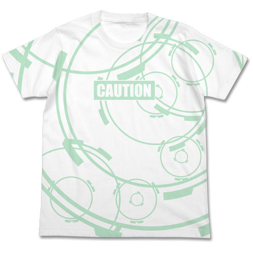 ガンゲイル・オンライン バレットサークル オールプリント Tシャツ/WHITE-XL(再販)[コスパ]《09月予約》