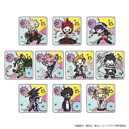 キャラアクリルバッジ「僕のヒーローアカデミア」02/(グラフアートデザイン) 10個入りBOX[A3]《在庫切れ》