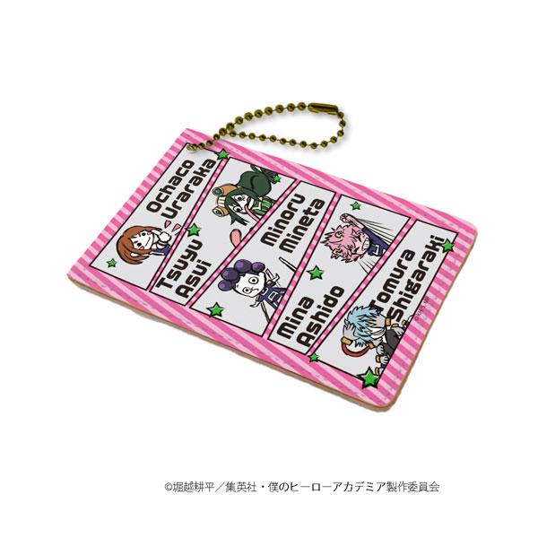 キャラパス「僕のヒーローアカデミア」04/ピンク(グラフアートデザイン)[A3]《在庫切れ》