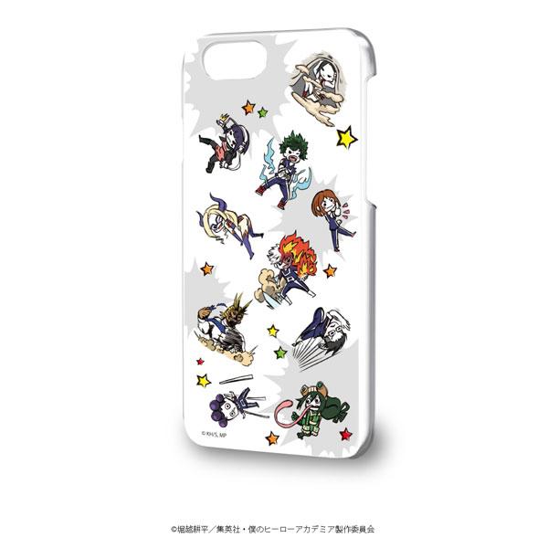 ハードケース(iPhone6/6s/7/8兼用)「僕のヒーローアカデミア」01/雄英生&先生(グラフアートデザイン)[A3]《在庫切れ》