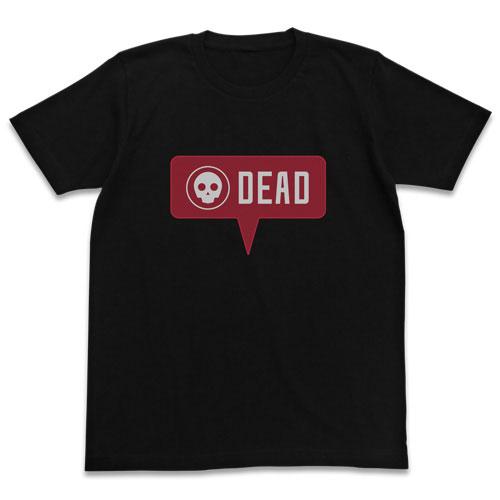 ガンゲイル・オンライン You are dead Tシャツ/BLACK-M(再販)[コスパ]《09月予約》